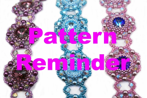 Deb Roberti's Holiday Bracelet & Medallion Pattern Reminder