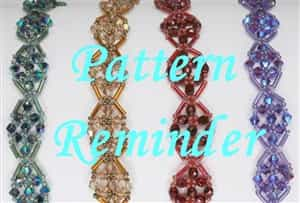 Deb Roberti's Key West Bracelet Pattern Reminder