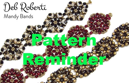 Deb Roberti's Mandy Bands Pattern Reminder