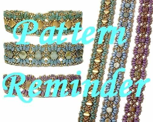 Deb Robertis MiniDuo Bands Bracelet Pattern Reminder