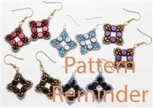 Deb Roberti's Roundabout Bracelet & Earrings Pattern Reminder