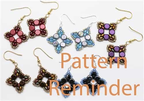 Deb Robertis Roundabout Bracelet Amp Earrings Pattern Reminder