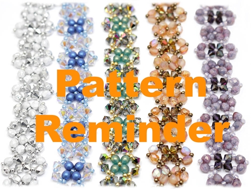 Deb Roberti's Saturday Night Bracelet Pattern Reminder