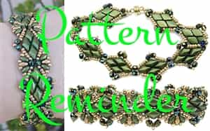Deb Roberti's Solitaire Bracelets Pattern Reminder