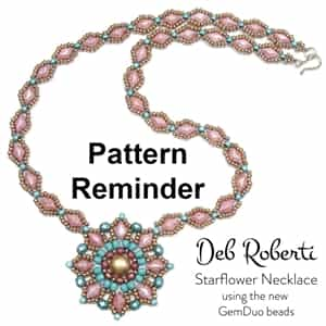 Deb Roberti's Starflower Necklace Pattern Reminder
