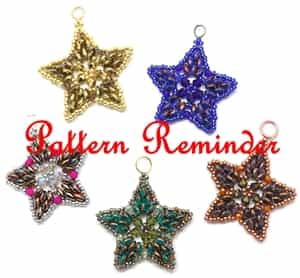 Deb Roberti's Starlight Ornament Pattern Reminder