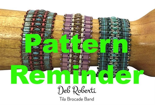 Deb Roberti's Tila Brocade Band Pattern Reminder