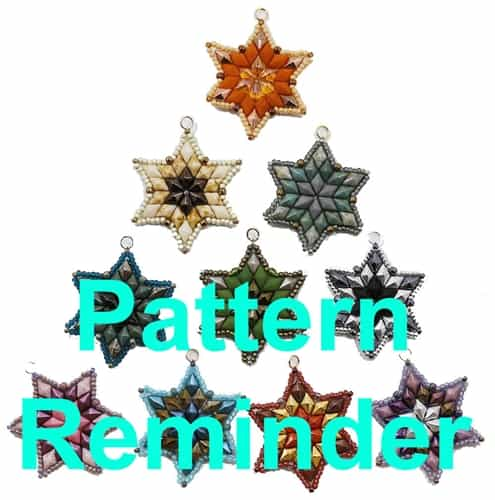 Deb Roberti's DiamondDuo Star Pattern Reminder