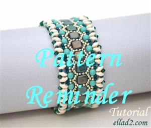Ellad2's Honeycomb Bracelet Pattern Reminder