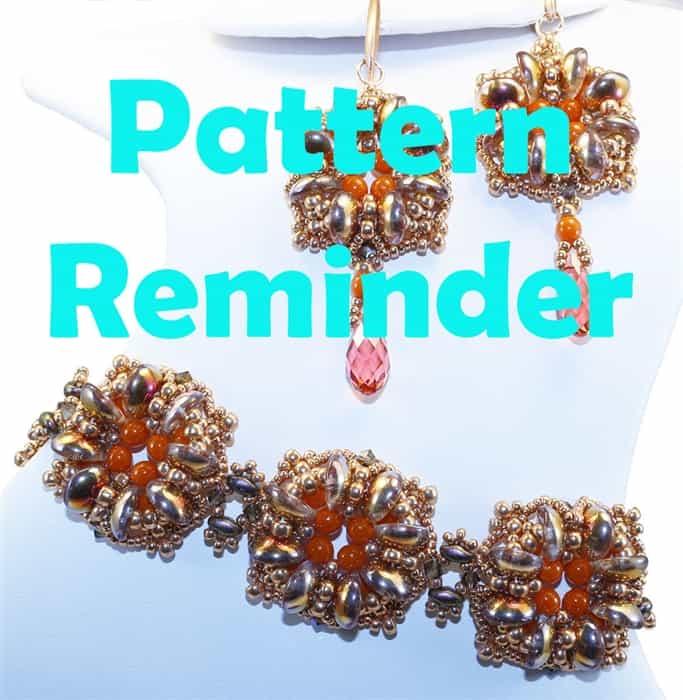 Ellad2s Lucky Clover Bracelet Pattern Reminder