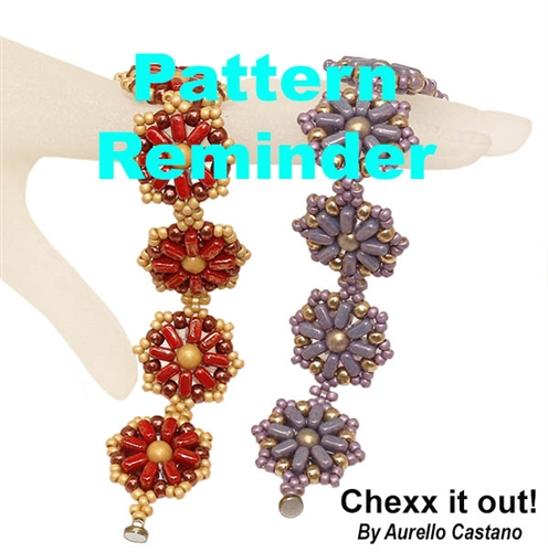 Facet Chexx it out! Bracelet Pattern Reminder