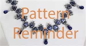 BeadSmith Exclusive Bead Pattern Galina's Gift Reminder