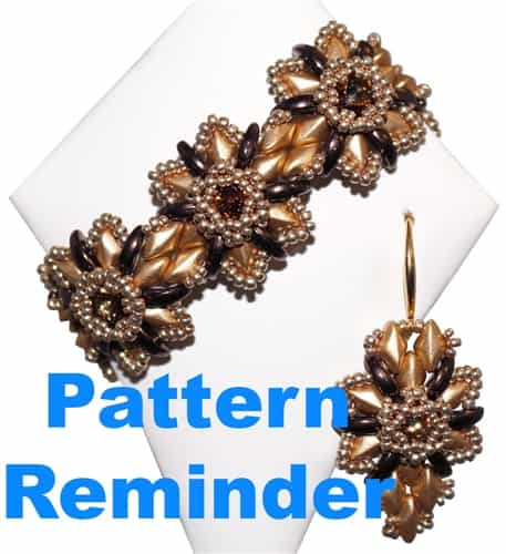 Michelle Snyder December Bracelet Pattern Reminder