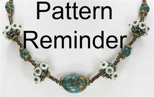 BeadSmith Exclusive Bead Pattern Ocular Beaded Bead Necklace