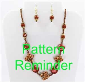 2016 Fall Fashion Color Potter's Clay Pattern Reminder