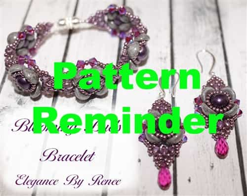 Elegance by Renee Blooming Buds Pattern Reminder