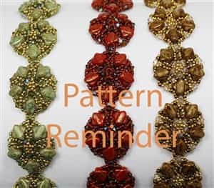BeadSmith Exclusive Bead Pattern Silky Circlets Reminder