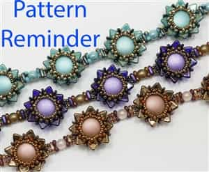 Starman A Pop of Color Necklace Pattern Reminder
