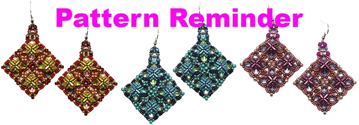 Starman TrendSetters Bertel Earrings Pattern Reminder