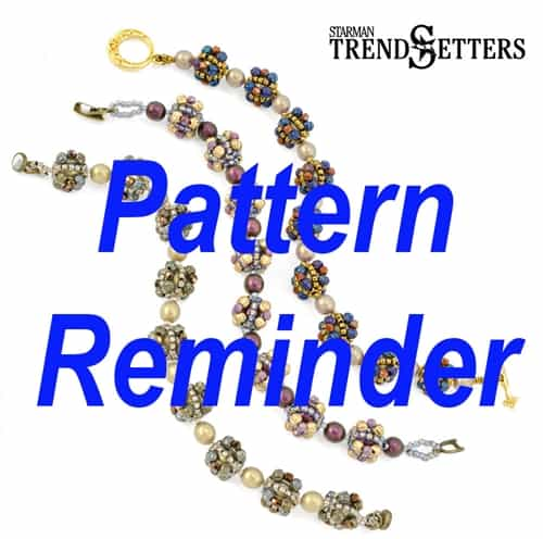 Starman Bon Bon Bracelet & Earrings Pattern Reminder