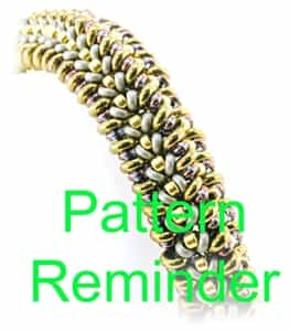 Starman Bountiful Bracelet Pattern Reminder