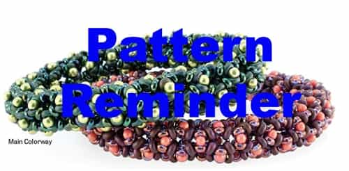Starman Byzantine Bangle Bracelet Pattern Reminder