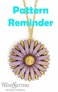 Starman Chrysanthemum Pendant Pattern Reminder