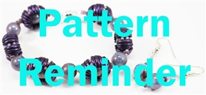 Starman Crescent Cuddles Bracelet Pattern Reminder