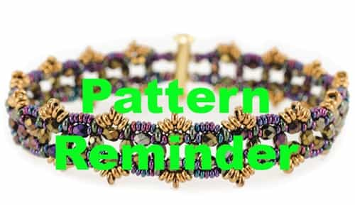 Starman Filigrana Bracelet Pattern Reminder