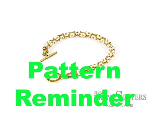 Starman Flowering Peyote Rope Pattern Reminder