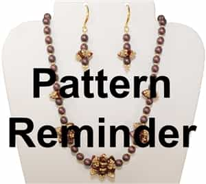 Starman Frill Seeker Necklace Pattern Reminder