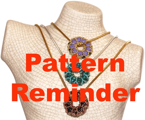 Starman Ginkgo Leaf Wreath Pendant Pattern Reminder