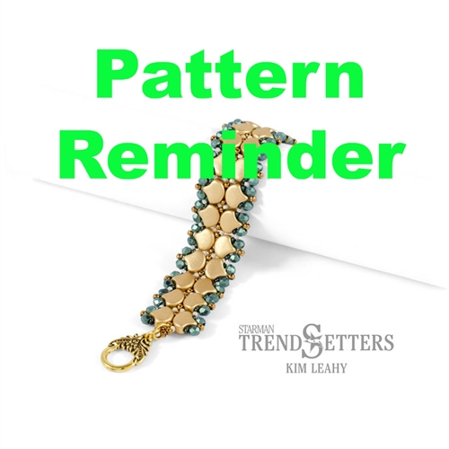 Starman Good Tidings Bracelet Pattern Reminder