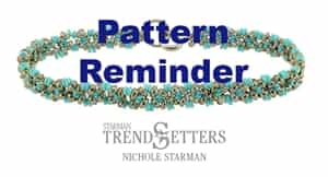 Starman Eternity Bracelet Pattern Reminder