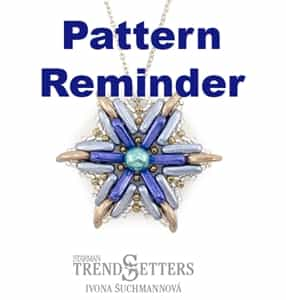 Starman North Star Pendant Pattern Reminder
