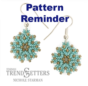 Starman Wonderland Medallion Pattern Reminder