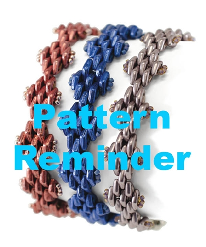Starman Rickrack Pattern Reminder