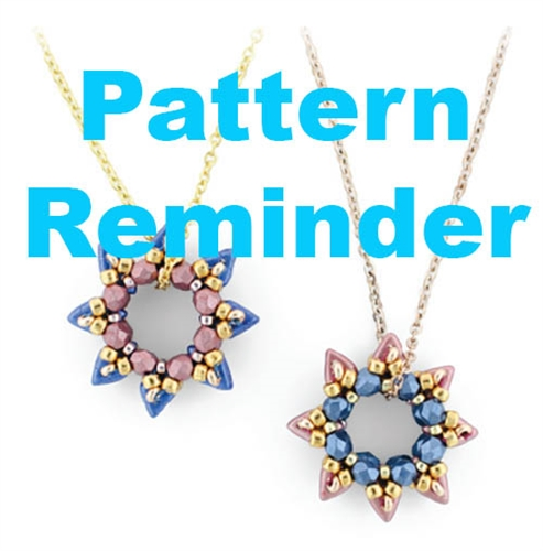 Starman Starburst Pattern Reminder