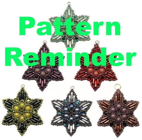 Starman Hope Pendant Pattern Reminder