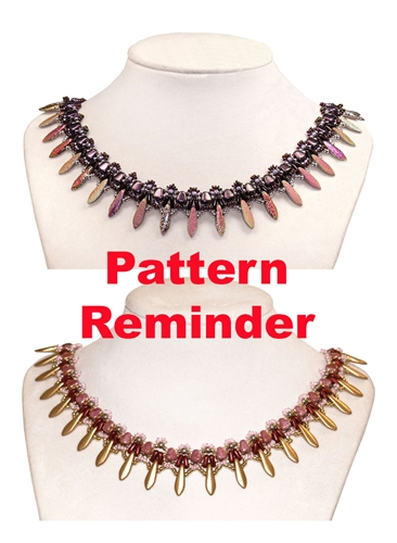 Starman Maidenhair Collar Pattern Reminder
