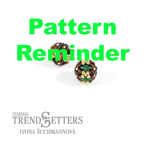 Starman Morpheus Holiday Beaded Beads Pattern Reminder