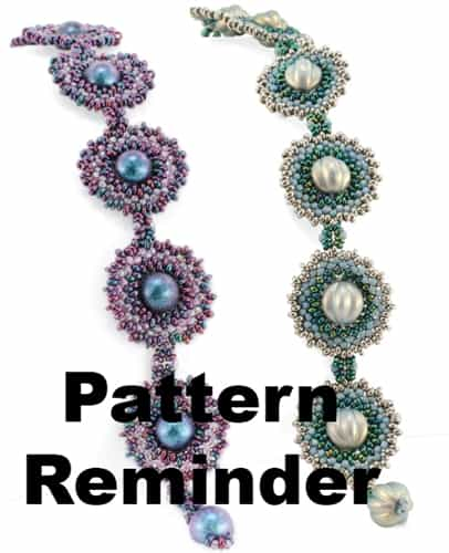 Starman Ombre Orbit Bracelet Pattern Reminder