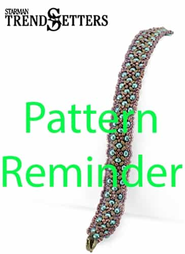 Starman Patchwork Bracelet Pattern Reminder