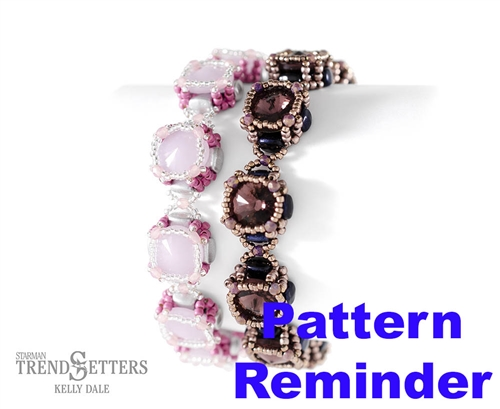 Starman Rose Rivoli Bracelet Pattern Reminder