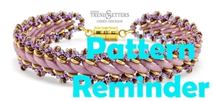 Starman Russian Crescents Bracelet Pattern Reminder