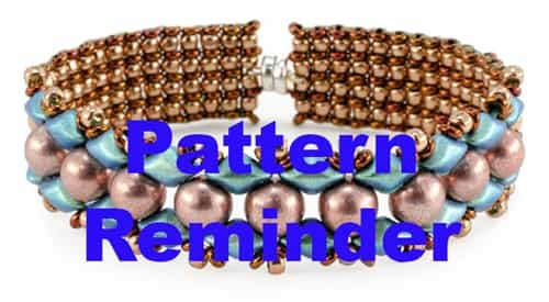 Starman Spring In Bloom Bracelet Pattern Reminder