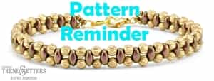Starman Steppin' Out Bracelet Pattern Reminder