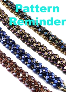 Starman Sweet Alyssum Bracelet Pattern Reminder
