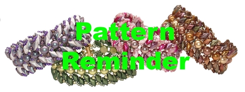 Starman TrendSetters Take Flight Bracelet Pattern Reminder