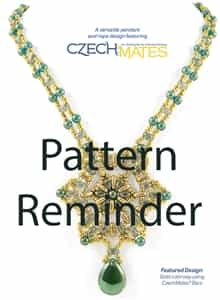 Starman Tri-Star Necklace Pattern Reminder